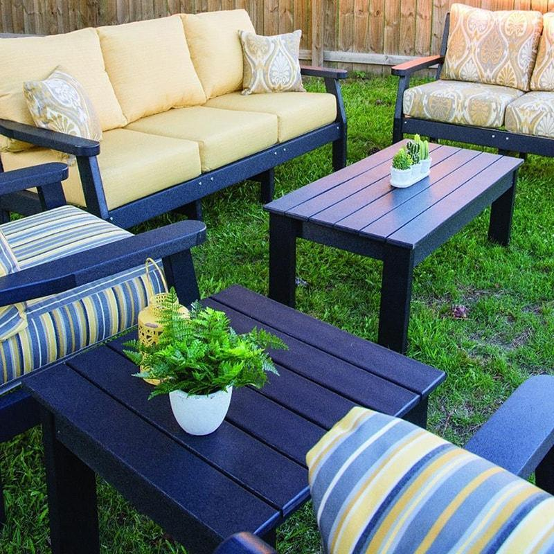 Backyard With Functional Patio Furniture