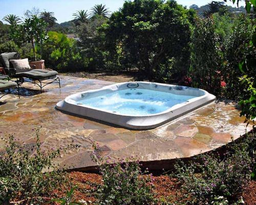 Backyard Jacuzzi Installation Minnesota