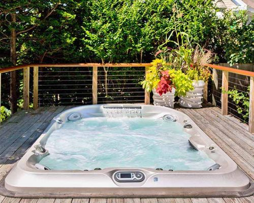 Jacuzzi Hot Tub Deck Installation Minnesota