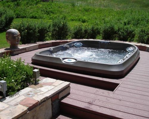 Jacuzzi Hot Tub In Deck Installation Brainerd Mn
