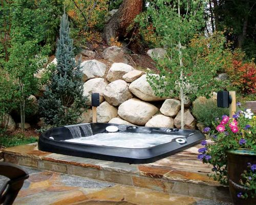 Jacuzzi Hot Tub Installation Garden Bemidji Mn