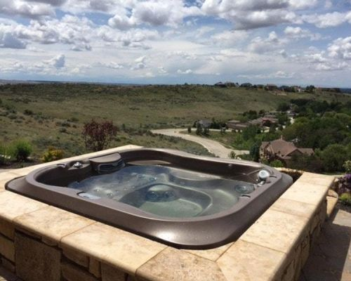 Jacuzzi Hot Tub Mountains Minnesota