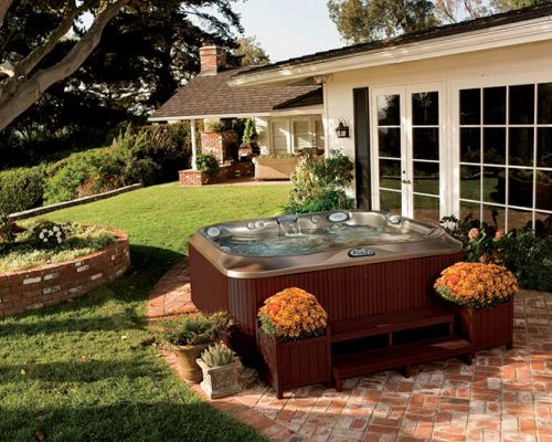 Jacuzzi Hot Tub Summer Installation Minnesota